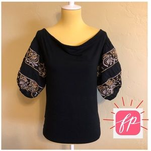 free people Off Shoulder Top *LIKE NEW*